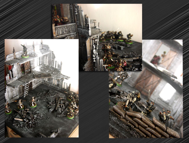 Cities of Death, Grey Knights and Stormtroopers