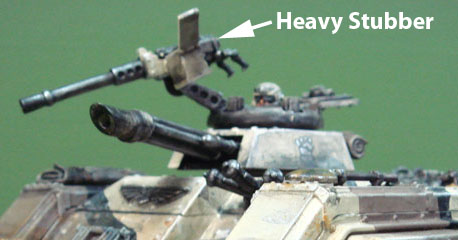 40k Imperial Guards Heavy Stubber