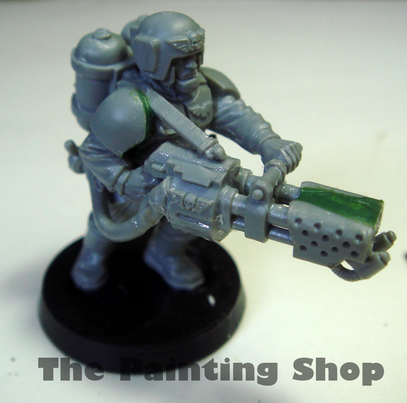 cadian heavy flamer
