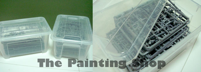 How to store your sprues and bits