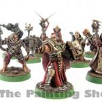 Warhammer 40k Inquisitor and Retinue