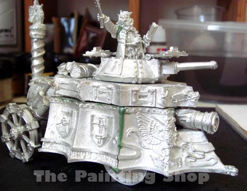 Old Empire Steam Tank