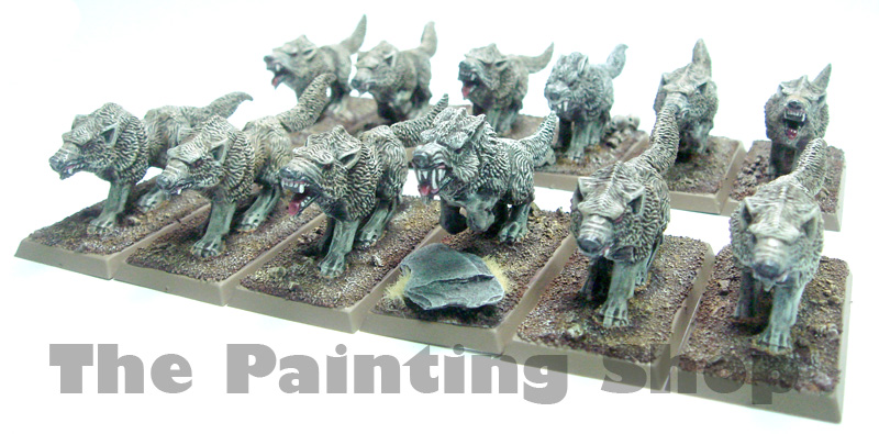 Vampire Count Dire Wolves