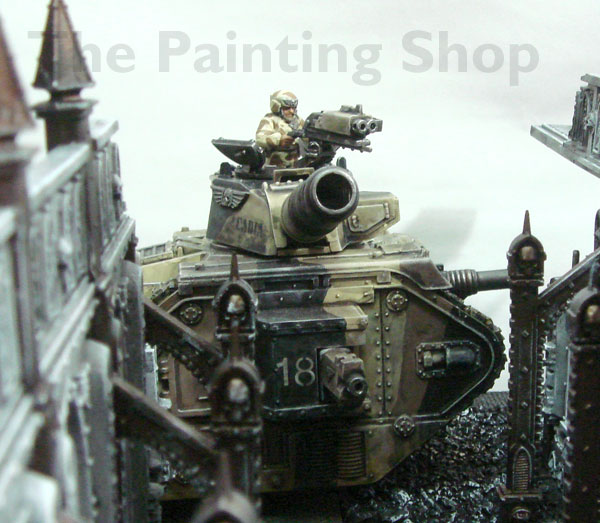 Imperial Guards Leman Russ tank