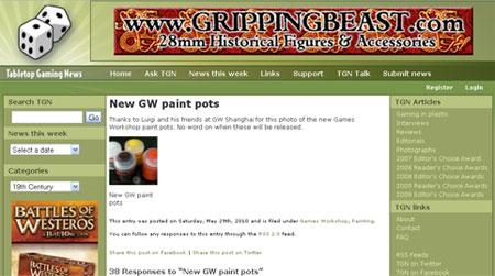GW new paint pot