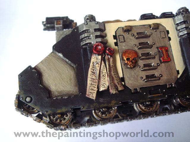 Daemonhunter Rhino tank before weathering