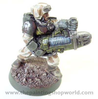 Imperial Guard Plasma Guardman