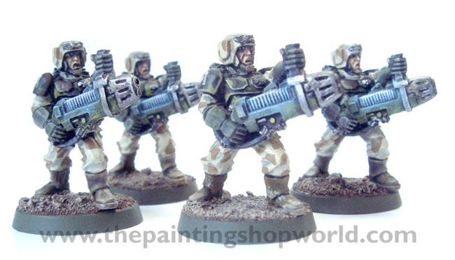 Imperial Guard Plasma Guardmen