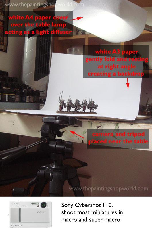 photoshot setup