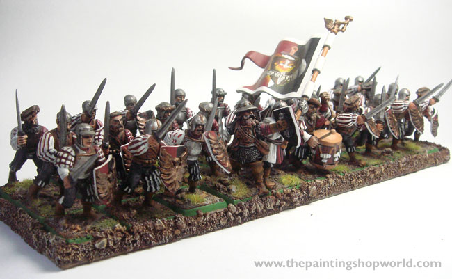 30 Empire Swordmen