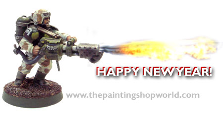 imperial guard flamer happy new year