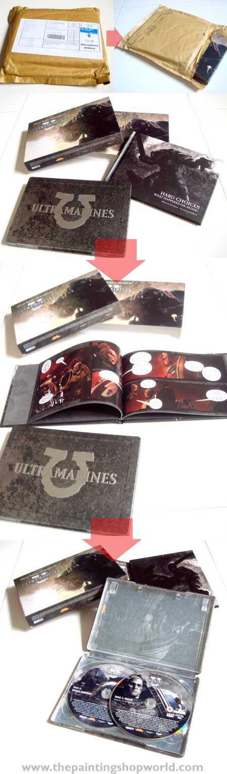 unboxing ultramarine dvd