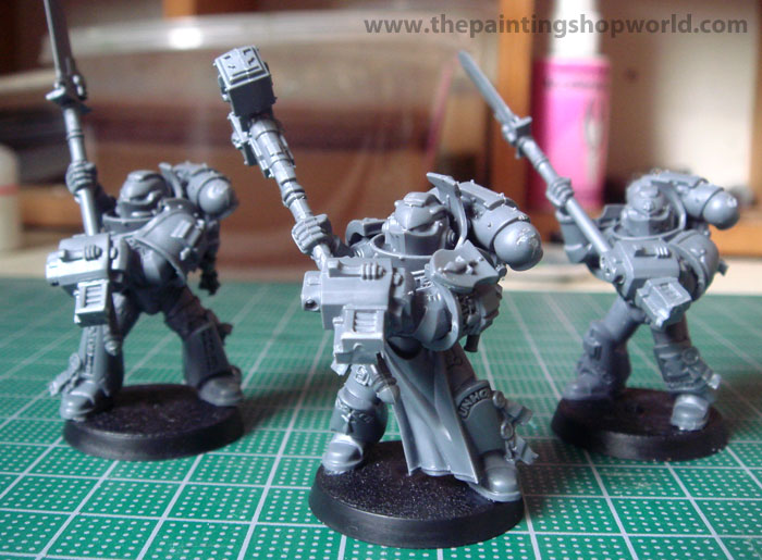 grey knights marines
