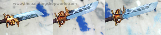 painting Nemesis Force Halberd