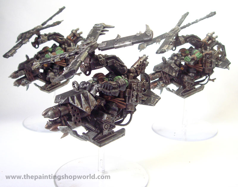 40k Ork Deffkoptas