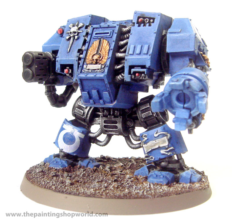 40k ultramarines dreadnought