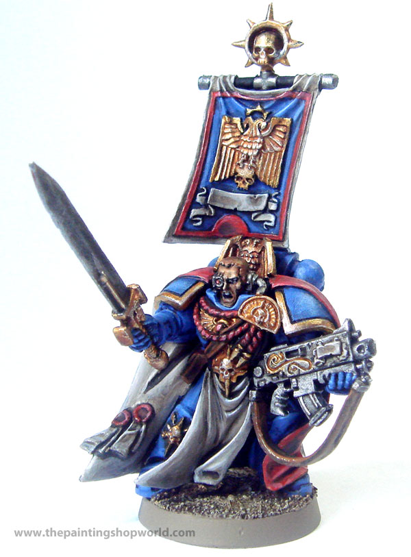 40k space marine commander
