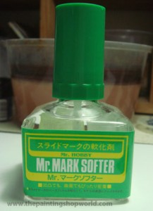 Mr Mark Softer decal softener