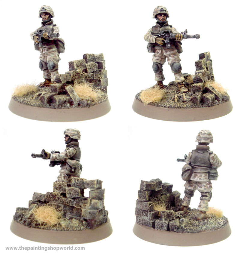US marines military miniatures