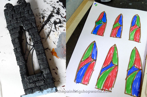 stain glass window making