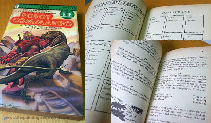 Fighting Fantasy Gamebook