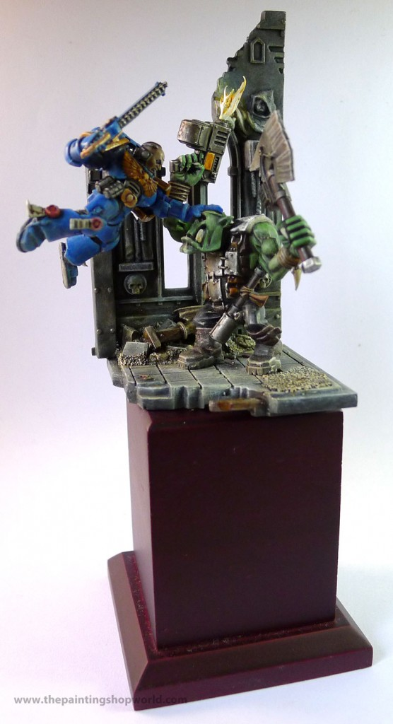 Ultramarine and Ork