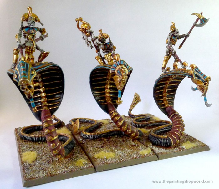 Tomb Kings Necropolis Knights