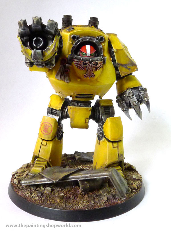 imperial fist contemphor dreadnought