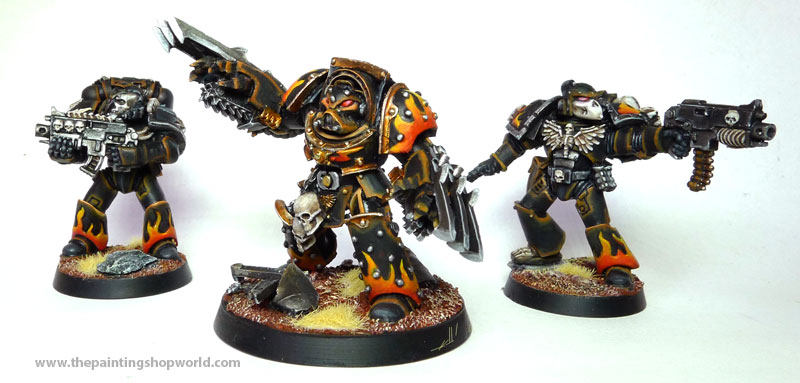Legionnaires Marines and Terminator