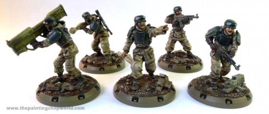 dust tactics battle grenadiers