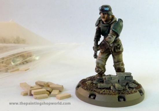 secret weapon ceramic bricks with dust tactic grenadier