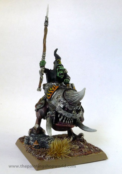 night goblin boss on squig