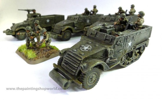 Flames of War Armoured Mortar Platoon
