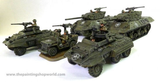 Flames of War Tank Destroyer