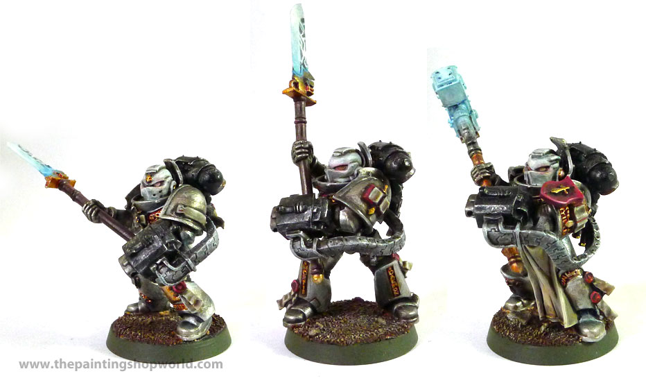 Grey Knights Purifiers With Chapterhouse Ammo Belt The