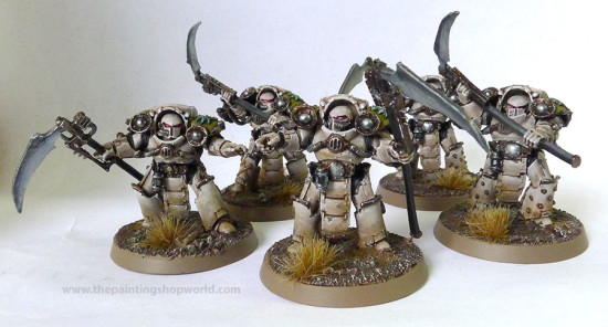 Death Guard Deathshroud Terminators