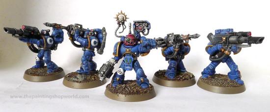 ultramarines devastator squad