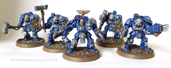 ultramarines terminators