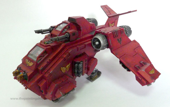 blood angel stormraven