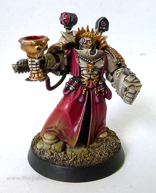 Sanguinary priest